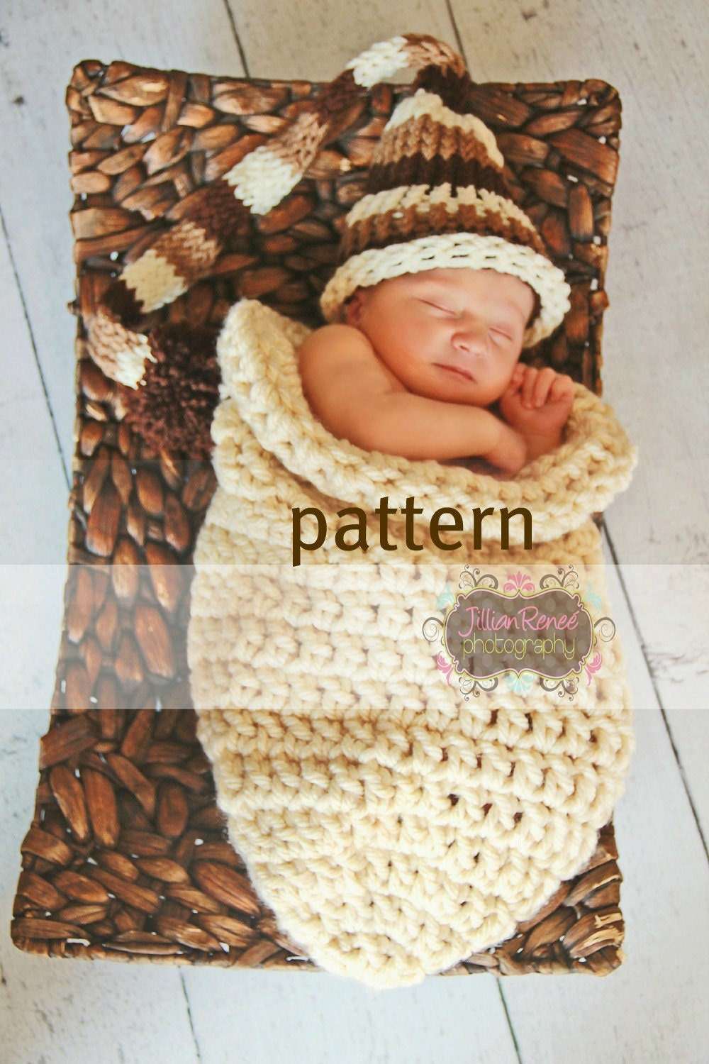 Baby Cocoon Crocheting Pattern One Hour Chunky Cocoon Sack