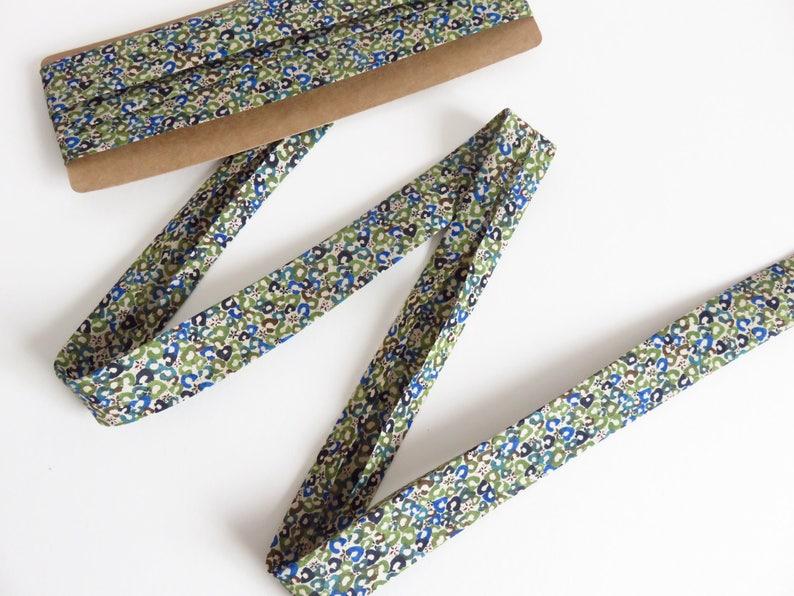 3 Metres 1 Single Fold Bias Tape Liberty Lawn /'Sweet Cherries B/' fabric