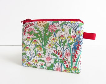 Liberty Lawn 'Alpine Patures B' Zippered Coin Purse
