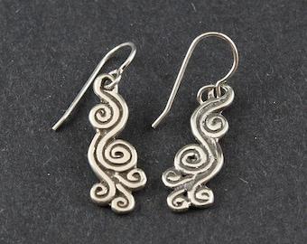 Spring Air East Sterling Silver Earrings