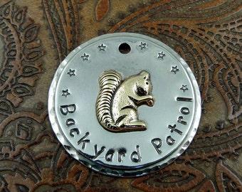 backyard patrol - dog id tag – personalized dog tag – dog tag for dogs – pet id tags – dog tag – islandtopcustomtags – islandtopdesigns