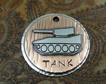 tank - dog id tag - pet tag – personalized dog tag – dog tag for dogs – pet id tags – dog tag – islandtopcustomtags – islandtopdesigns