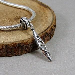 2 pcs Canoe Bateau Tibet Silver Charms Pendentifs À faire soi-même Fabrication De Bijoux Artisanat