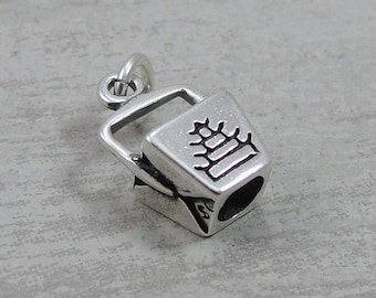 Chinese Takeout Charm - Sterling Silver Chinese Takeout Food Container Charm for Necklace or Bracelet