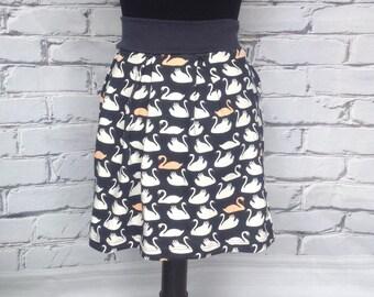 Swan Pleated Skirt