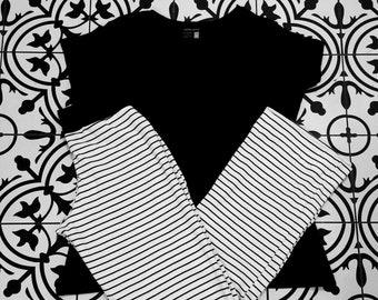 Organic Cotton Pajama Set Women, Organic Sleepwear for Women