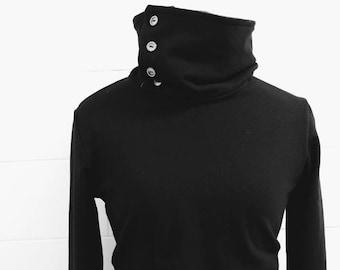 Turtleneck Sweatshirt -- Organic Cotton