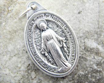 Virgen MilagrosaMedalla MilagrosaMiraculous MedalDivine MercyNecklace and Bracelet SetVirgen MariaVirgen MaryMother MaryCatholicGift