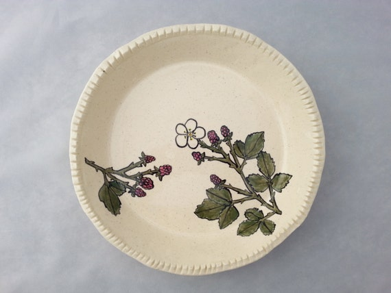Blackberry Pie Plate