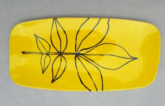 Hickory Leaf Platter