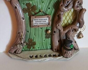 Leprechaun door Personalized Irish Pub 1483 SALE & Leprechaun door | Etsy