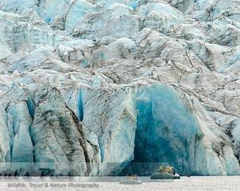 Spencer Glacier, Chugach National Forest, 8x12 Fine Art Photograph (D6065), Nature photography, Landscape Photograph