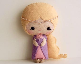 Rapunzel pdf Pattern - Instant Download