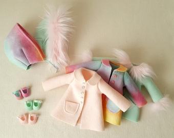 Winter Essentials for Sparkle Starlet Doll - pdf Pattern