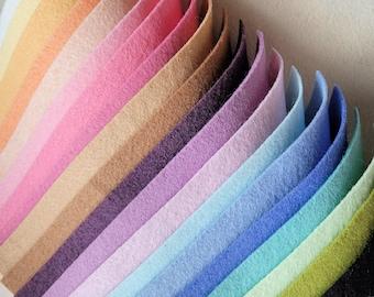 My Faves - Merino Wool Blend Felt 20 9x12 Sheets