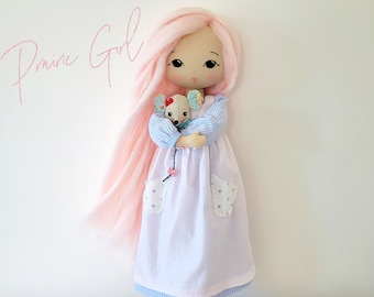 Prairie Girl Outfit Patterns for Sparkle Starlet Doll - pdf Pattern