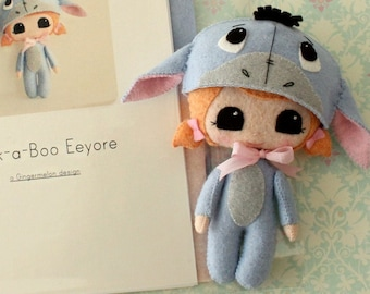Peek-a-Boo Eeyore Pattern Kit