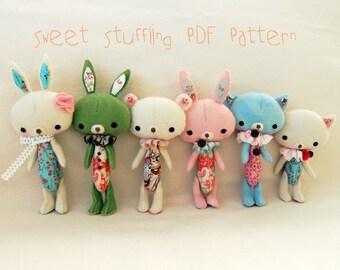 Sweet Stuffling PDF Pattern - Instant Download