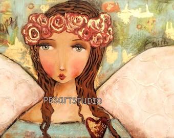 Hope Angel-CANVAS PRINT