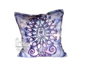 Decorative pillow cover Tree of Life, Bohemian home decoration