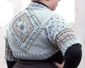 Knit sweater bolero shrug...