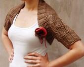Rustic hand knit women bo...