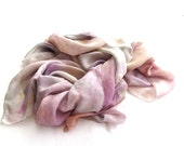 Pastel long silk scarf luxury bridal wrap shawl