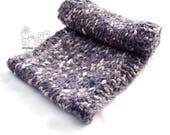 Lavender infinity knit sc...