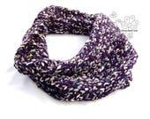 Chunky hand knit infinity...