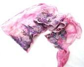 Candy nuno felt scarf lux...