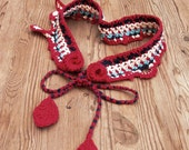 Colorful crochet fairy bo...