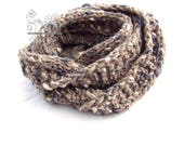 Chunky knit scarf, Infini...
