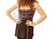Long knit fashion womens ...