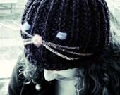 Cat hat womens beanie cat...