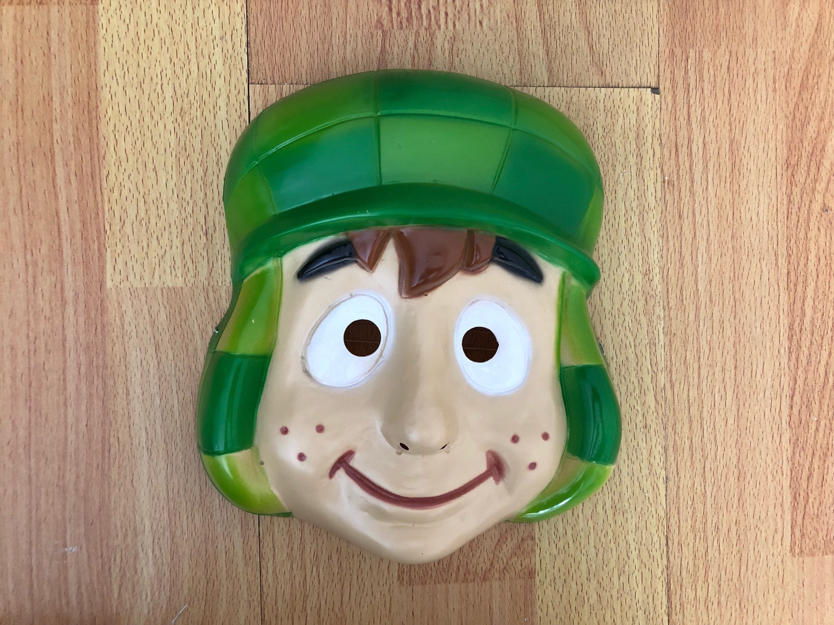 El Chavo Mexican Halloween Mask Plastic Etsy