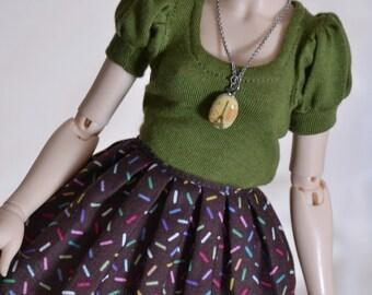 Sprinkles skirt for minifee