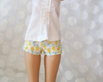 Pineapple shorts for minifee
