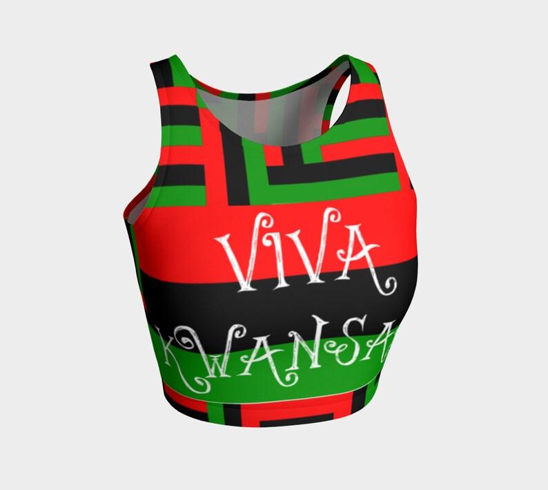 Viva Kwanzaa Crop Top