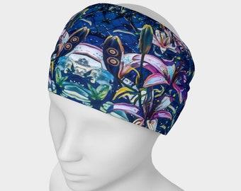 Tiger Lilies at Night Headband