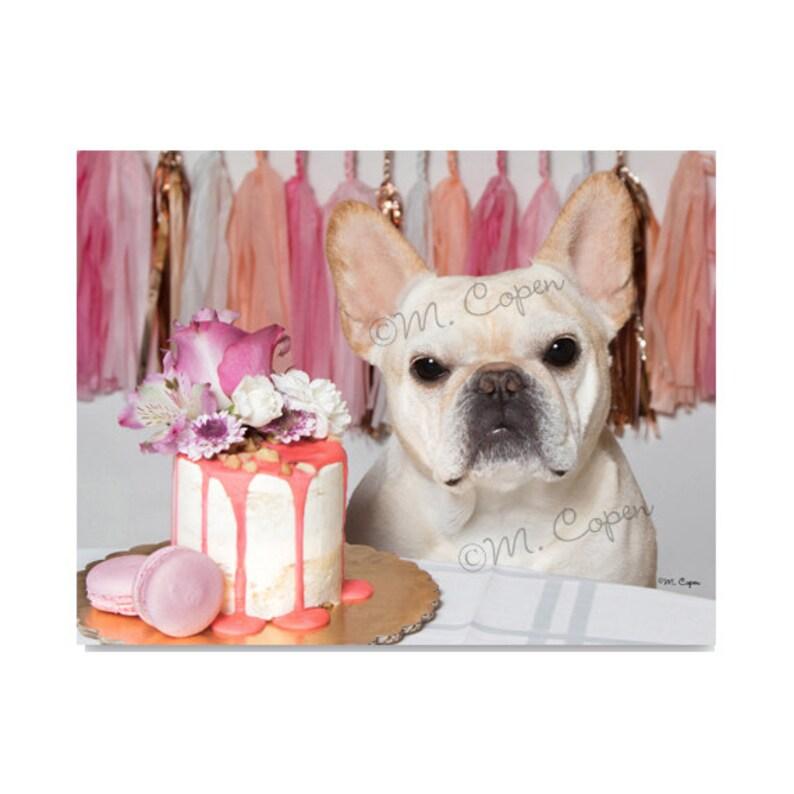 Fulvo Bulldog Francese Anniversario Carta Matrimonio Francese Etsy