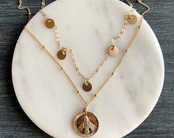 11 mm Louis Pendant Jewels Obsession Solid 14K Rose Gold St