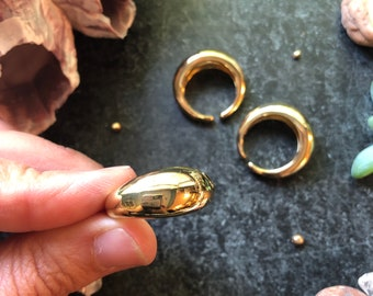 Chunky Gold Ring - 18k gold filled