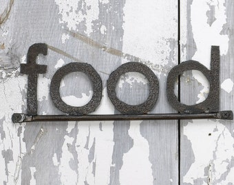Wall Sign FOOD Decorative Signage