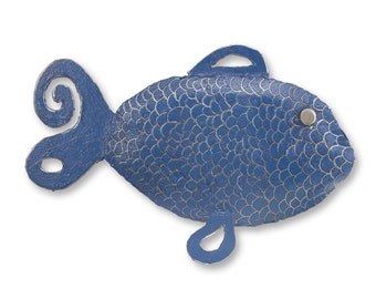 Fiona the Fish in Blue