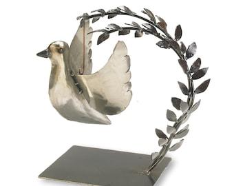 Peace Dove Tabletop Sculpture