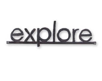 Explore Metal Word Sign Wall Sign Metal Letters