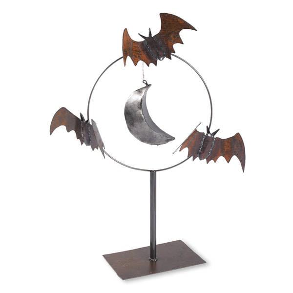 art bat sculpture m tal jardin etsy. Black Bedroom Furniture Sets. Home Design Ideas