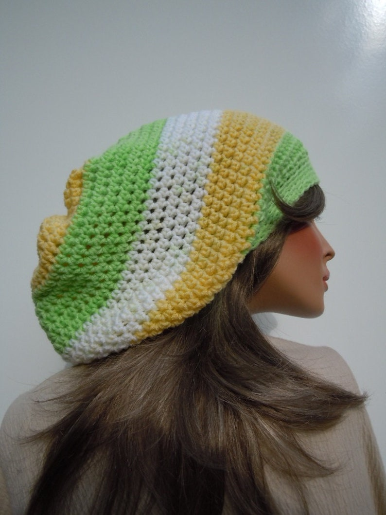 d5b94cabed1 Dreadlock Tam Rasta Tam Cap Hippie Hat Bag Hat Soft Colors