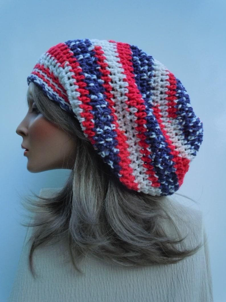 a65591de378 Patriotic Tam Dreadlock Tam Rasta Tam Cap Hippie Hat Bag