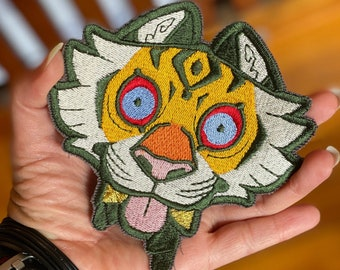 Lord of Tiger PYO Colour Embroidered Patch